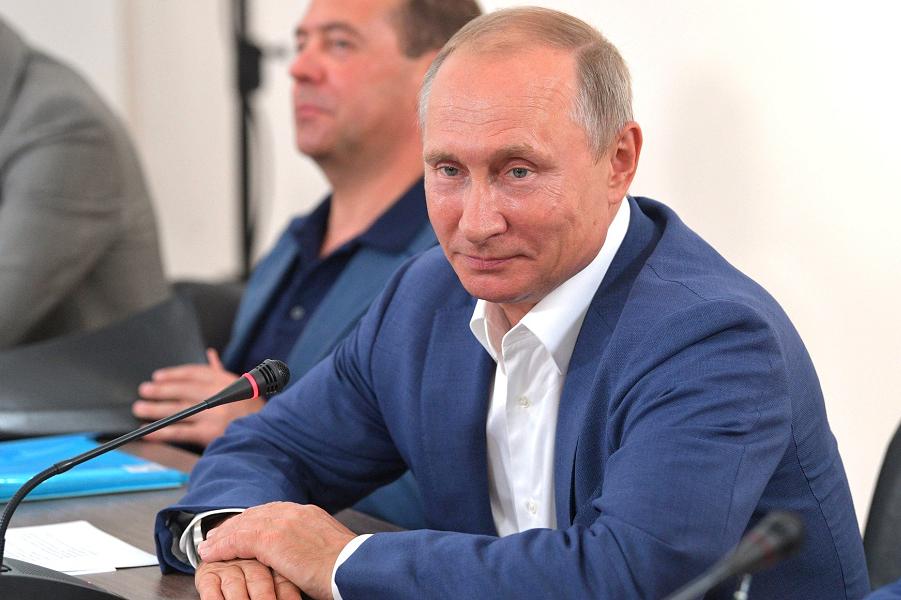 Скамейка запасных Путина