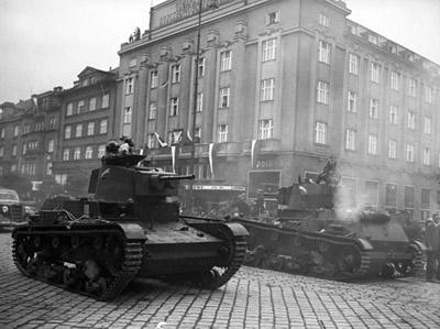 1938 год. Польская оккупация Чехословакии