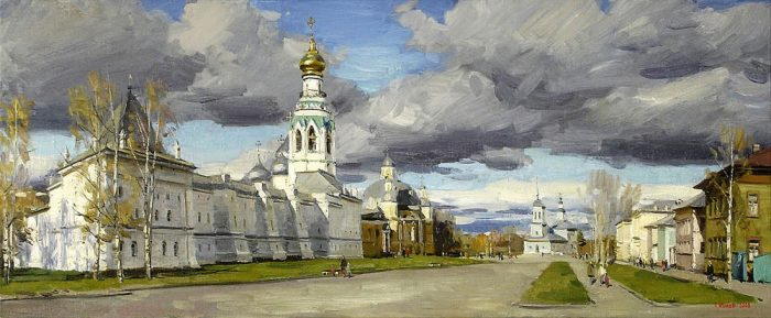 художник Евгений Борисович Молев картины – 16
