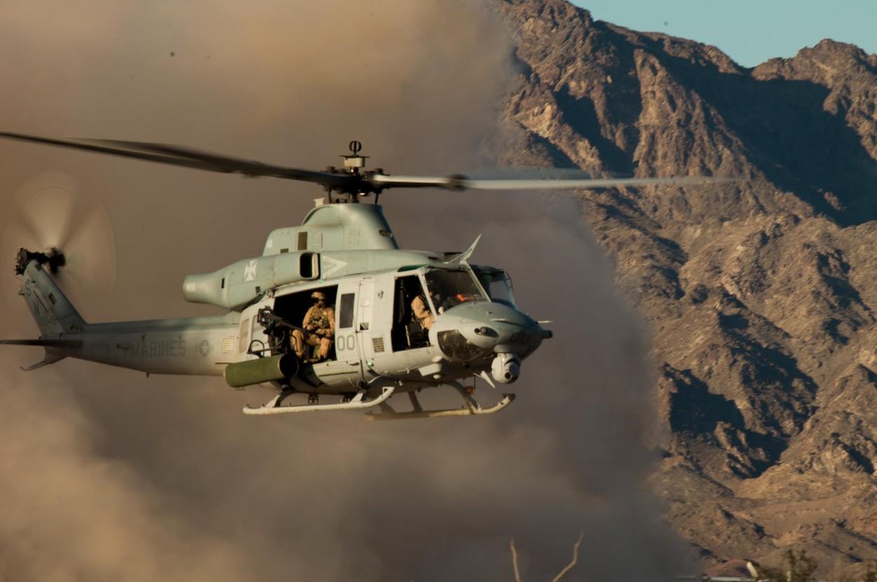 Уведомление о возможной поставке Чехии 12 американских многоцелевых вертолетов Bell UH-1Y Venom