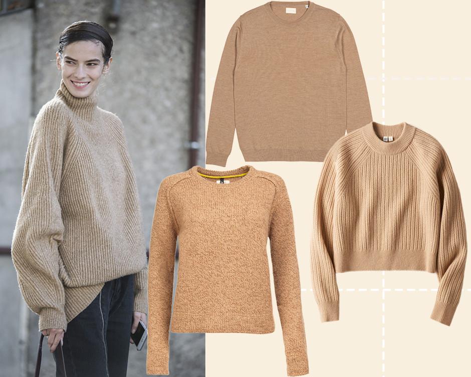 10 моделей красивых и теплых свитеров, в которых будет приятно переживать холода