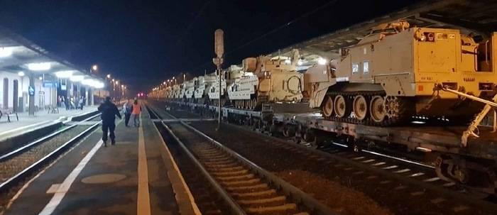 Гибридное уничтожение американских танков в Польше