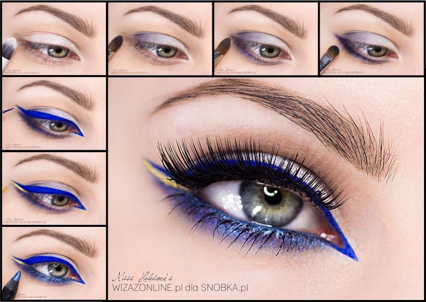 Вечерний макияж с стрелками