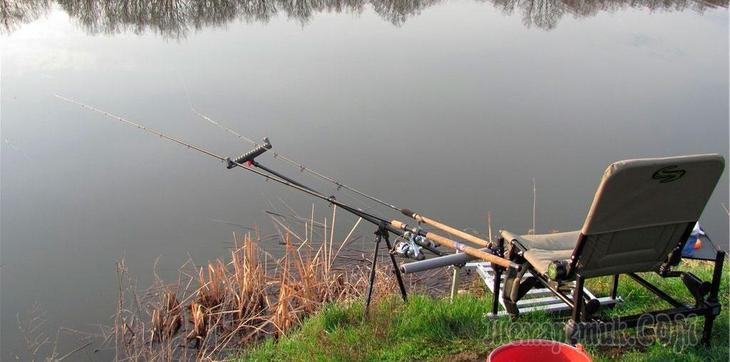 весенняя рыбалка на пикер