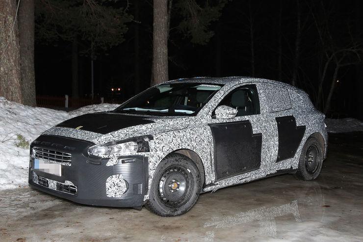 Новый Ford Focus: испытания начались