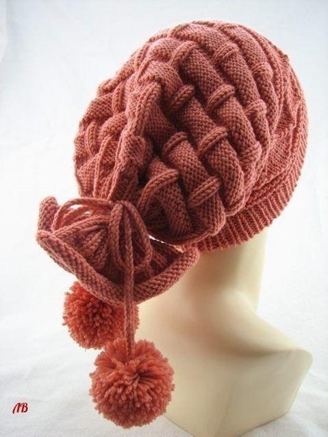 Оригинальная шапка-снуд два в одном: идея 0