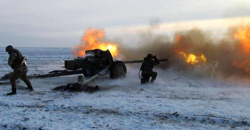 Донбасс горит. ВСУ пытаются прорвать оборону у Песок