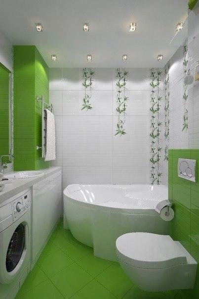 Идея ремонта и дизайна ванной комнаты