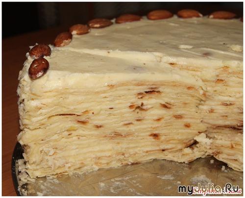 """Торт """"Наполеон"""" (на сковороде)"""