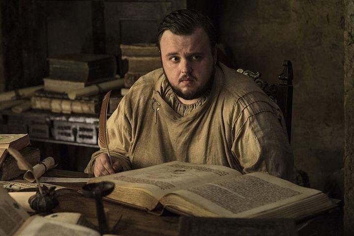 Толстяк Сэмвелл Тарли из «Игры престолов» (актер Джон Брэдли): «В мире нечисти и драконов всем только мой вес кажется неправдоподобным»