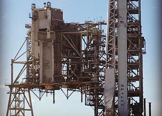 SpaceX воспользуется стартовой площадкой «аполлонов»
