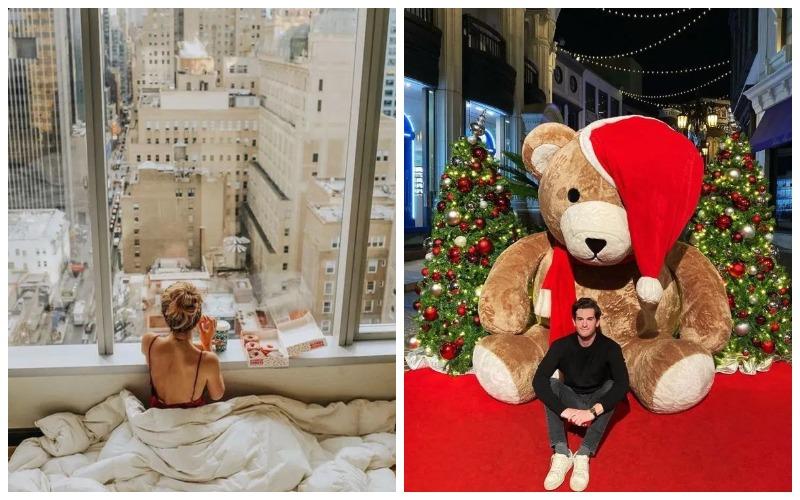 Горячая зима: золотая молодежь хвастает роскошными рождественскими каникулами в Инстаграме