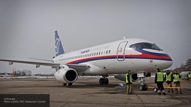 Сухой набирает обороты: российский Superjet 100 покорил ирландских пилотов