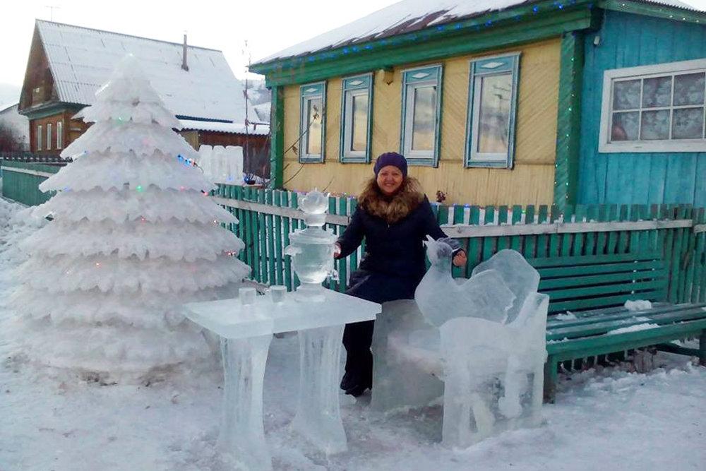 В Башкирии жители  сами украсили свои дворы на радость себе и другим!