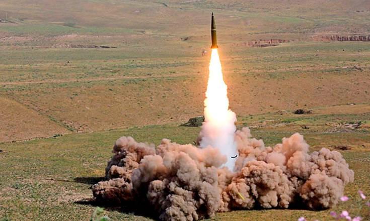 Пуск новой ракеты для комплекса «Искандер-М» попал на видео