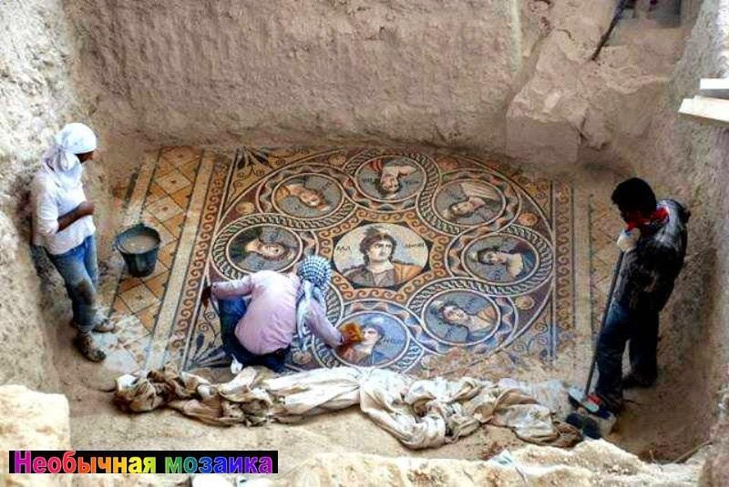 Турция город Зеугма!Раскопали фрески древнего Рима,и обнаружили надписи на Русском