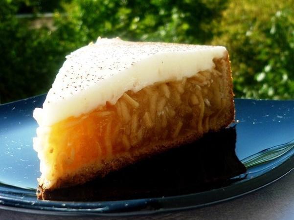 Самый вкусный яблочный пирог «Яблочный лучик»!