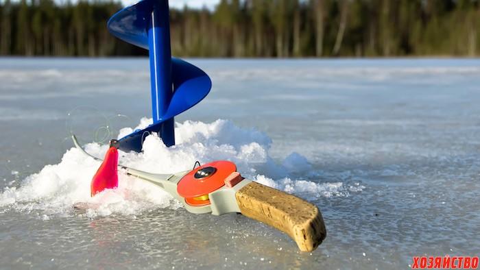 Моя первая ледная рыбалка в этом году