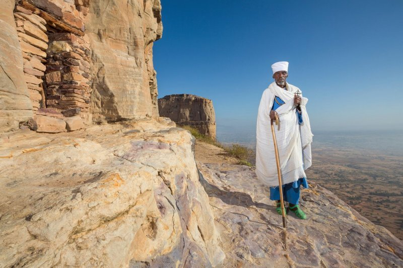 Даниэль Коркор в мире, жизнь, интересно, удивительно, церковь, эфиопия
