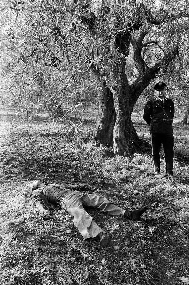 Архив крови: разборки мафии на фотографиях Летиции Баттальи