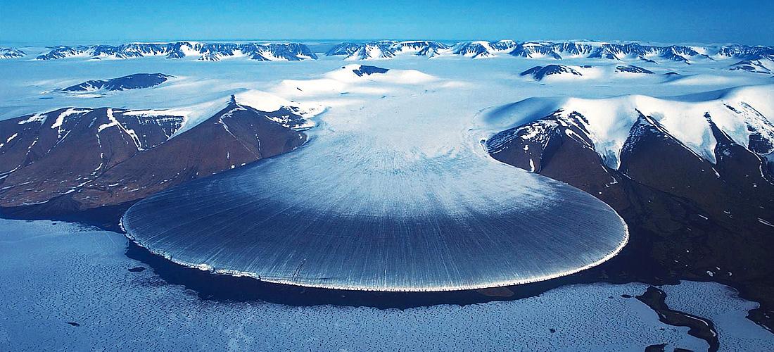 Фото Арктический Ледник Нога слона. Ледяные чудеса природы. Фото с сайта NewPix.ru