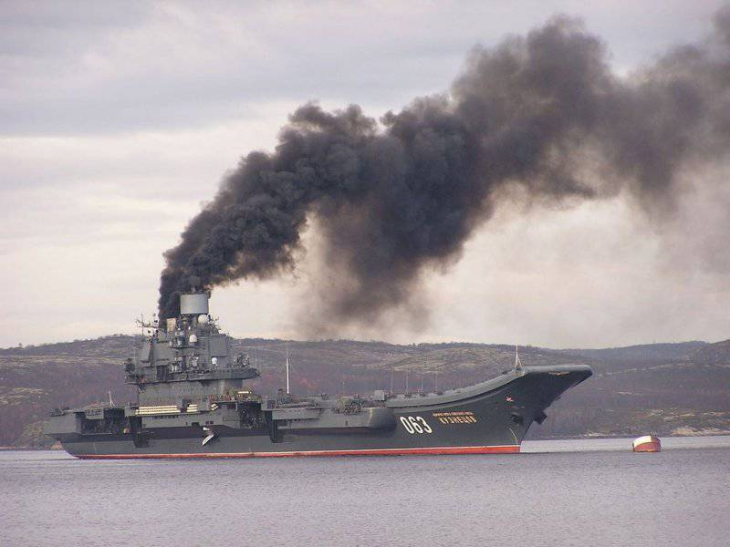 """""""Адмирал Кузнецов"""" приходил к Сирии воевать и выиграл эту войну"""