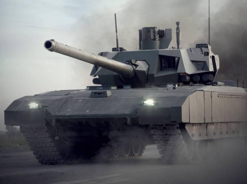 Войсковые испытания «Арматы» идут по плану