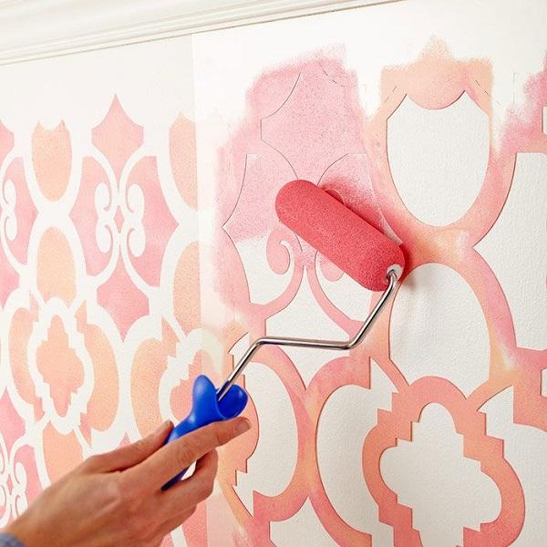 Как сделать шаблоны на стены