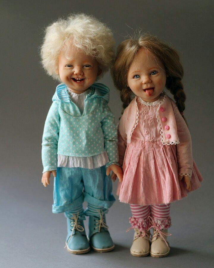 Чудесные куклы с добрыми глазами: для вдохновения 7