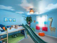 Голубой потолок 1