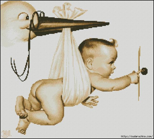 Картинки по запросу Вышивка крестом – метрики для малышей