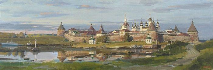 художник Евгений Борисович Молев картины – 11