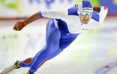 Конькобежец Юсков установил мировой рекорд на дистанции 1,5 тыс. метров