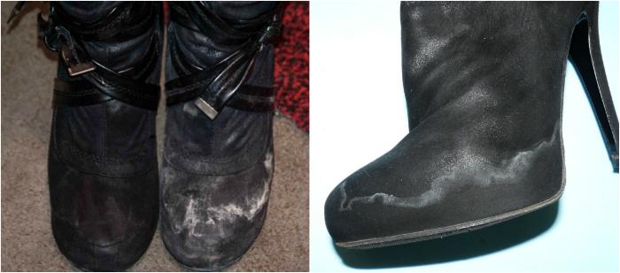 Как уберечь обувь от соли... Простые рецепты для замши, кожи и нубука!