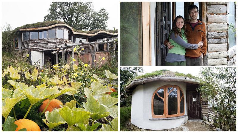 Пара построила эко-дом с тремя спальнями всего за 27 000, используя вторичные материалы