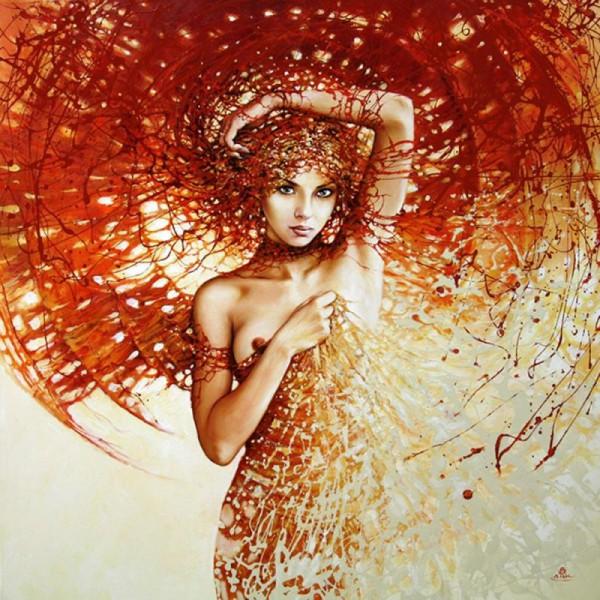 Тайны женской души от польского художника Кароля Бака.