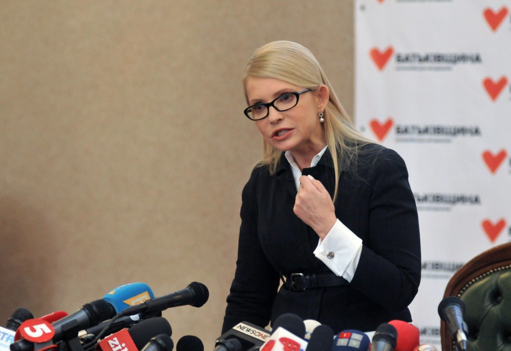 Тимошенко заявила, что Украине не нужен президент