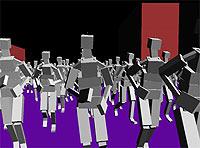 Моделирование поведения толпы