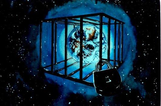 Земля - это планета -тюрьма, своего рода ЧИСТИЛИЩЕ