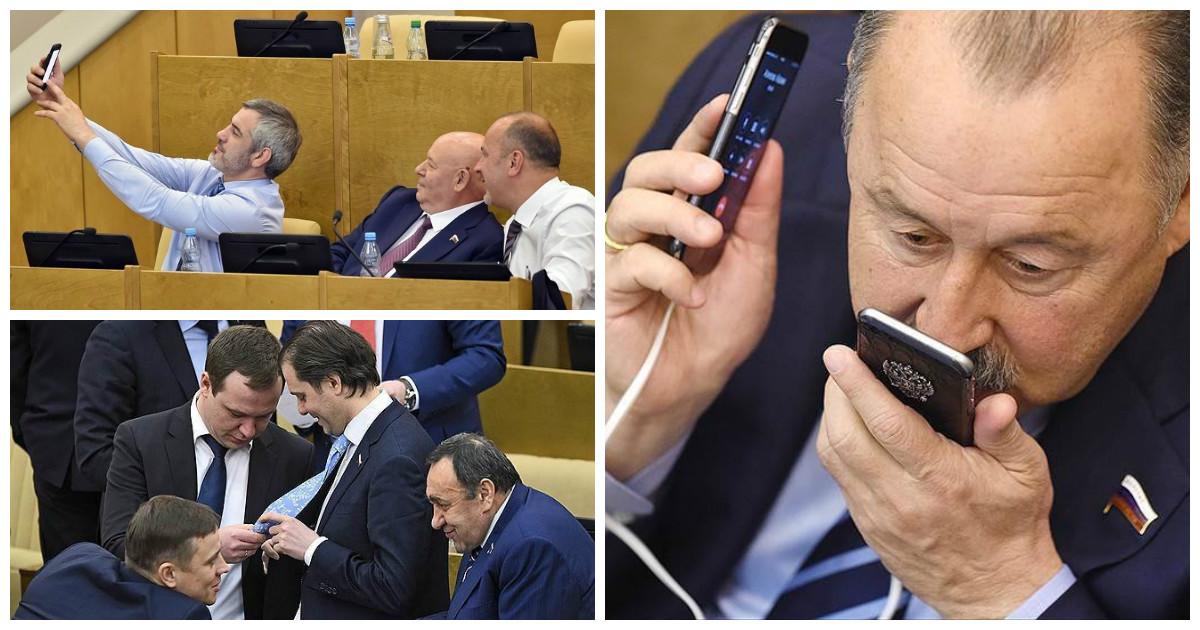 Депутаты Госдумы стали настоящим посмешищем для западного развлекательного портала