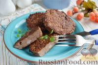 Фото приготовления рецепта: Экономные котлеты из печени и риса - шаг №8