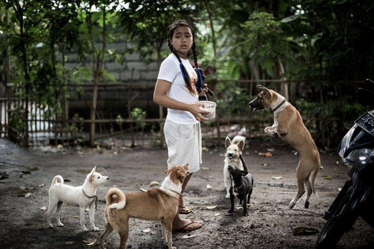 Больную девочку вылечила собака. Теперь малышка сама спасает бездомных животных!