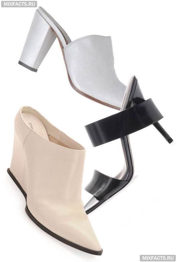 Такие разные  туфли-мюли