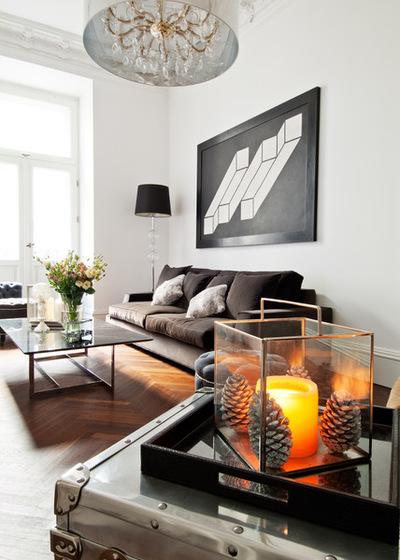 Современный Гостиная by FJ Interior Design