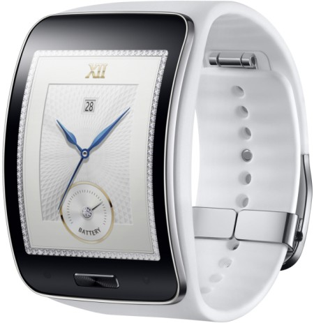 Samsung+Gear+S Pure+White 2 Samsungпредставит новые смарт часы и наушники на выставкеIFA