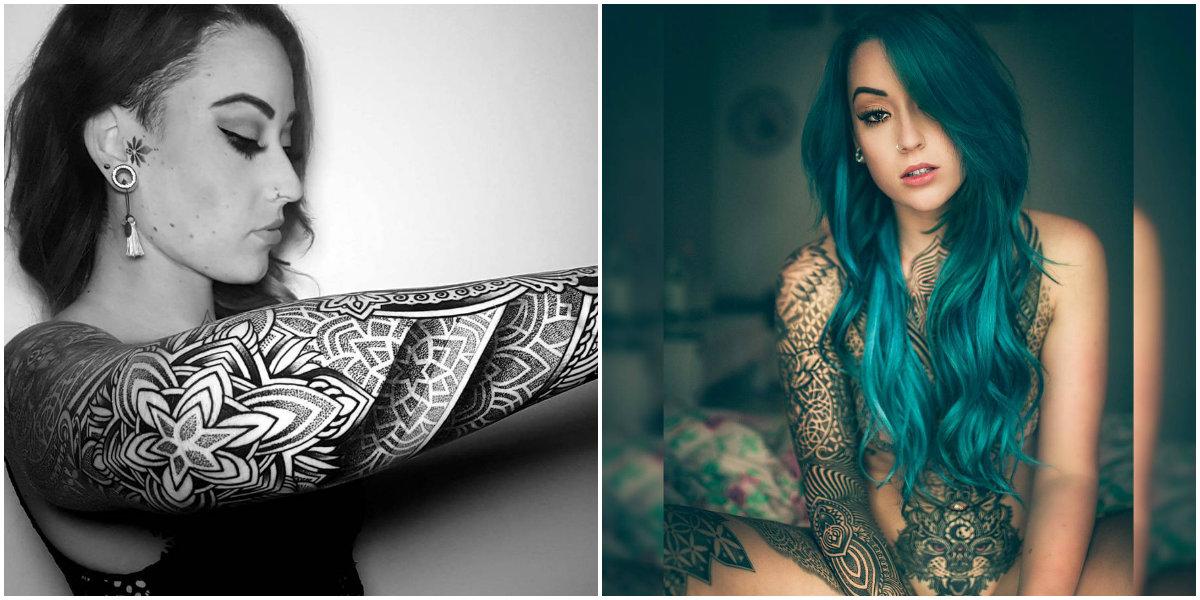 Как желание сделать тату на руке превратилось в арт-проект на все тело стоимостью 15 тысяч долларов