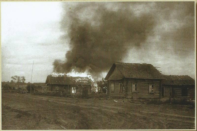 Сожжённый дом и неравный бой