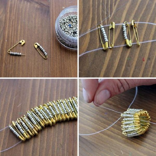 украшения из бисера кольцо