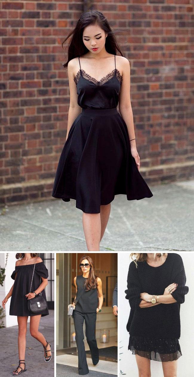 12 фишек, которые помогут выглядеть в чёрном по-королевски
