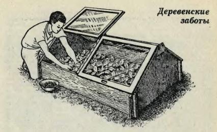 Удобная конструкция теплицы, которая собирается без единого гвоздя